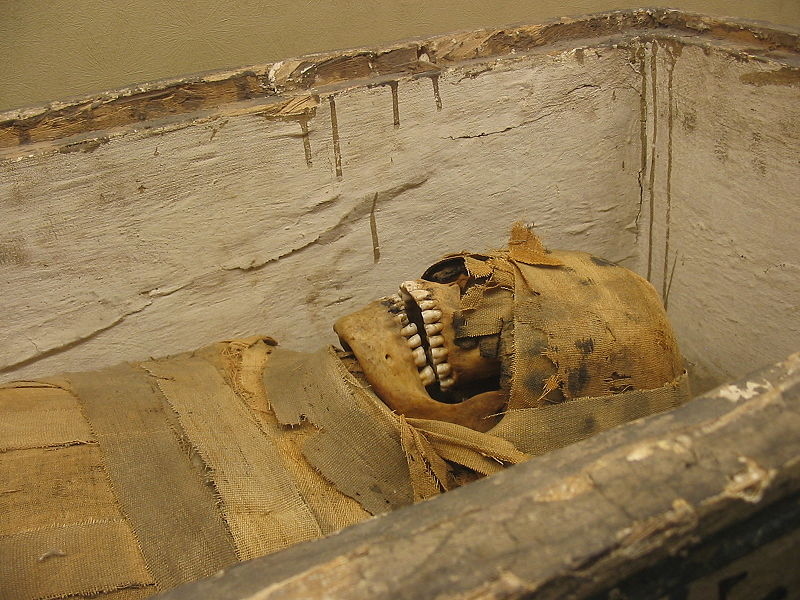 What does an egyptian tomb look like 10
